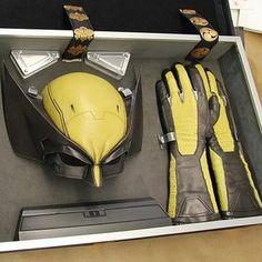 Unused 'The Wolverine' Costume Reveals Iconic 1975 Armor - Lucy Wolverine Costume, Wolverine Movie, Logan Wolverine, Superhero Cosplay, Marvel Cosplay, Old Man Logan, Helmet Paint, Spiderman Art, Movie Props