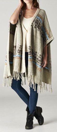 Sadie Ruana Sweater