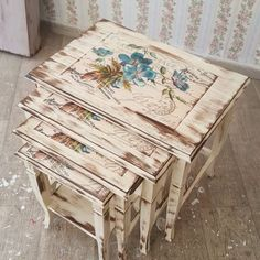For orders and information please call 0531 305 06 82 whatsapp # masko # modoko # ankaramobilya # s . Diy Furniture Redo, Decoupage Furniture, Refurbished Furniture, Handmade Furniture, Shabby Chic Furniture, Painted Furniture, Modern Furniture, Decoupage Vintage, Diy Vintage