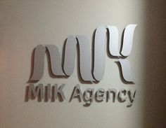 MIK Agency Outdoor Sign