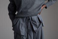 Comme des Garçons Gauchos Designer Vintage Clothing  Minimal Fashion