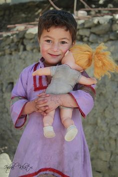 Hunza Village Child - Pakistan
