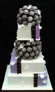 ケーキポップのウェディングケーキ