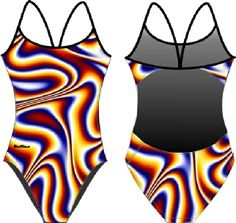 DELFINA: Walpapers & Screensavers Designer Collection DELFINA OPTICAL ILLUSION OPENBACK Water Polo Suits, Synchronized Swimming, Swimming Gear, Swim Wear, Designer Collection, Illusion, Boys, Girls, Bodysuit