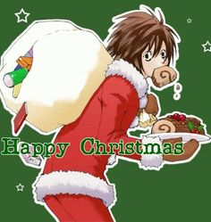 """Death note - L """"Merry Christmas"""""""