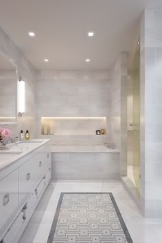 Timeless Bathroom Trends | Remodeling ideas, Moldings and Drawers on