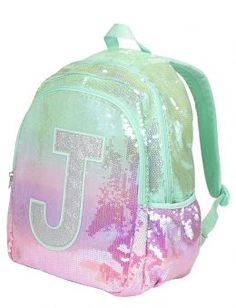Initial Ombre Backpack   Girls School Supplies Accessories   Shop Justice