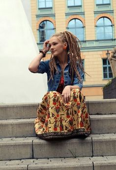 Dreads n dat skirt #dreadstop - We are Live DreadStop.Com