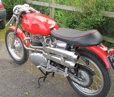 BSA Lightning Classic Cafe Racer, one off special build.