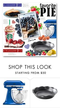"""""""What's Your Favorite Pie?"""" by anitadz ❤ liked on Polyvore featuring interior, interiors, interior design, home, home decor, interior decorating, KitchenAid, Revol and favoritepie"""