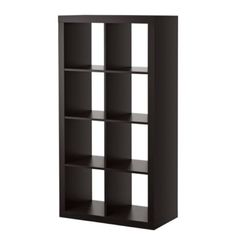 Expedit bookcase from Ikea - we have this bookcase horizontally aligned under the window and it is PERFECT.  Great price, everyone compliments it.