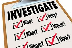 Hiring a private investigator could be the answer to many of your questions. Private Investigator, Writing Advice, Career Development, Questions, List, Investigations, Illustration, Writer, Facts