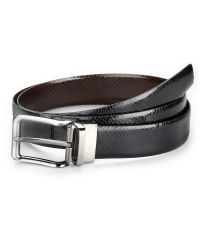 Snake Print Genuine Leather Reversible Belt For Men  -Beautiful Design Snake Print Genuine Leather  -Can Wear both the Ways Black or Brown  -Shiny Buckle  -Just Twist the Buckle and change the color  Material Used  100% Genuine Leather   HandMade!