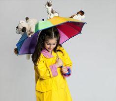Brilliant idea!!!!! raining cats and dogs:)