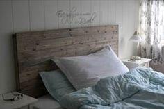 Etter å ha brukt timar på å leite etter inspirasjon til ein enkel, fin og heimelaga sengegavl, va. New Room, Bed Pillows, Pillow Cases, Master Bedroom, Diy Projects, Room Decor, Interior, Ideas Para, Diy Ideas