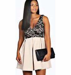 boohoo Casey Lace Skater Dress - stone azz22639 Look knock-out on nights out in figure-skimming bodycon fits, flowing maxi lengths and stunning sequin-embellished occasion dresses. This season make for satin sheen slip dresses in mink nudes, and ma http://www.comparestoreprices.co.uk/dresses/boohoo-casey-lace-skater-dress--stone-azz22639.asp