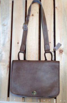 rare vintage Coach putty suspender bag