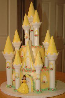 Resultado de imagem para castelo bela e a fera cake