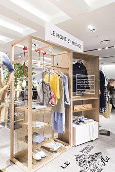 프랑스 헤리티지 감성의 르몽생미셸(LE MONT SAINT MICHEL )이 갤러리아 명품관 WEST 3층에 오픈하였습니다. 니트제품이 대표적인 르몽생미셸. 상큼한 봄컬러 제품을 만나보세요 !