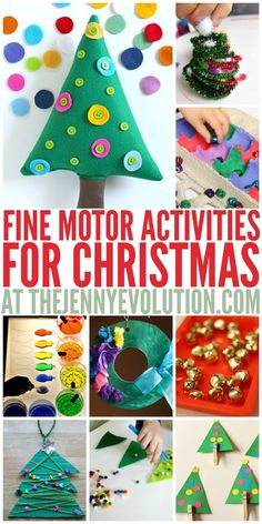 Christmas Fine Motor Activities | The Jenny Evolution