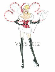 Victorias Secret Fashion Show 2012 Sketch