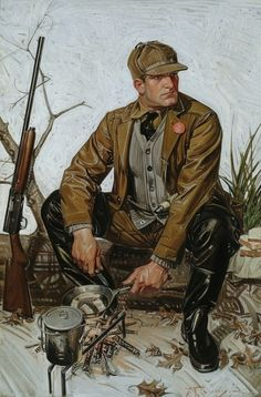 Leyendecker, Frank Xavier (b,1876)- Lunchtime, 1910
