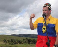 Desde el corazón de la Gran Sabana nos comprometemos con todos los venezolanos