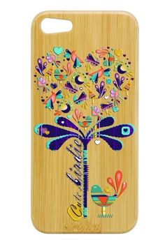 Color Tree Bamboo iPhone case