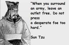 The Art of War by Sun Tzu is one of my favorite books. - Album on Imgur