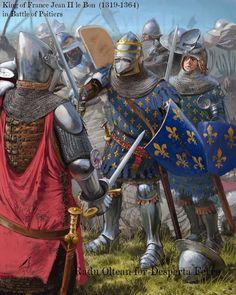 Radu Oltean: Juan II el Bueno en la batalla de Poitiers.