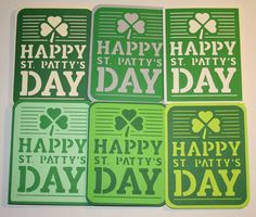 ROS ST PATRICKS DAY CARDS