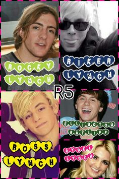 R5 collage made by @zophiakrause! This is awesome!!