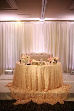 Chic romantic wedding from Adrienne Gunde Photography - wedding reception idea