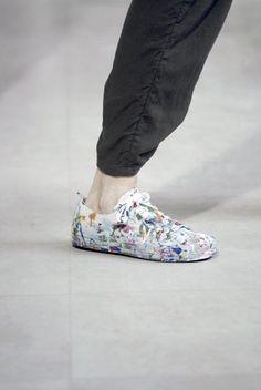 Ann Demeulemeester 'artist' sneakers