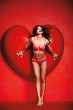 valentine pics   Adriana Lima for Victoria's Secret Valentine's Day
