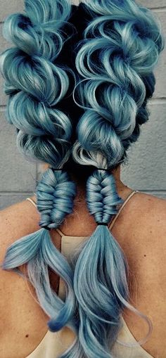 25 Pastellblau Haarfarbe Ideen – Haar-Optionen im Jahr 2019 versuchen 25 Pastel Blue Hair Color Ideas – Try hair options in 2019 colour Cute Hair Colors, Hair Dye Colors, Hair Color Blue, Cool Hair Color, Pastel Hair Colors, Colourful Hair, Crazy Hair Colour, Bright Coloured Hair, Mermaid Hair Colors