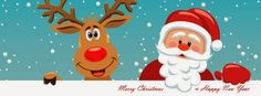Merry Christmas and Happy New Year 2015 Facebook Timeline Covers ...