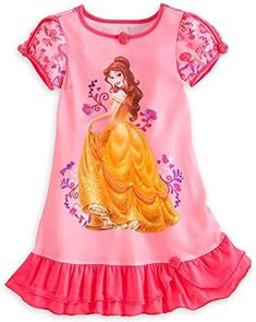 Find Disney Store Princess Belle Girl Nightgown Night Shirt Pajama (S online. Shop the latest collection of Disney Store Princess Belle Girl Nightgown Night Shirt Pajama (S from the popular stores - all in one Disney Pajamas, Disney Tees, Girl Outfits, Cute Outfits, Girls Sleepwear, Disney Merchandise, Toddler Dress, Toddler Girl, Disney Girls