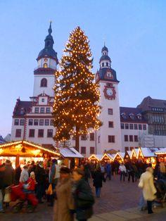 Germany Christmas Market in Chemnitz   repinned by www.mybestgermanrecipes.com
