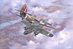 Ray Holmes, el piloto de laRAF que embistió un bombardero alemán para detenerlo de bombardear el Palacio de Buckingham     Ray Holmes en la...