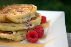 Saltwater Happy's Berry Pancakes
