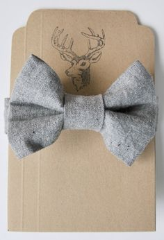 linen bow tie. www.facebook.com/dioneaweb Buenos Aires, Argentina.