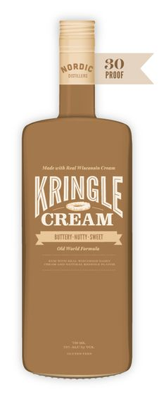 Kringle Cream - rum w/ real wisconsin dairy cream and natural kringle flavor - new rumchata? MUST TRY!