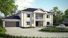 DOM.PL™ - Projekt domu SZ5 Zx113 CE - DOM OZ9-76 - gotowy projekt domu