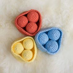 DIY: Sorting game for children to learn to paint (including crochet instructions) Diy Montessori, Sorting Games, Crochet Instructions, Learn To Paint, Games For Kids, Learning, Children, Painting, Babys