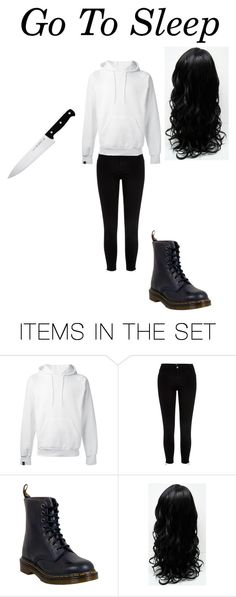 """Jeff The Killer Girl Version"" by fallenangel-skylathewolf on Polyvore featuring art"