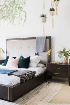 Give your favorite guy an upgrade with this IKEA Big Boy Room idea! Distressed faux brick walls and sport decor add to this amazing IKEA furniture! Home Decor Bedroom, Modern Bedroom, Bedroom Furniture, Tropical Master Bedroom, Bedroom Drawers, Budget Bedroom, Design Bedroom, Bedroom Ideas, Ikea Pax