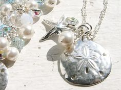 SAND DOLLAR STaRFiSH Charm Necklace