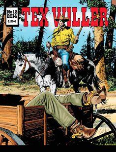 Tex Willer -lehti no 12/2014. #sarjakuva #sarjis #sarjakuvalehti #egmont