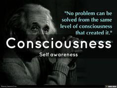 Consciousness <br>Self awareness